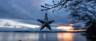 Tähtikoriste meren äärellä